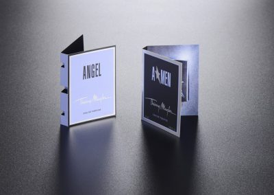 Carte échantillon parfum