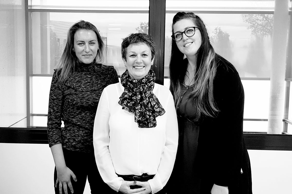 Photo de l'équipe d'administration des ventes de Martinenq